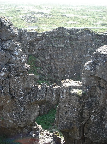 Photo Iceland adventure travel in Thingvellir travel