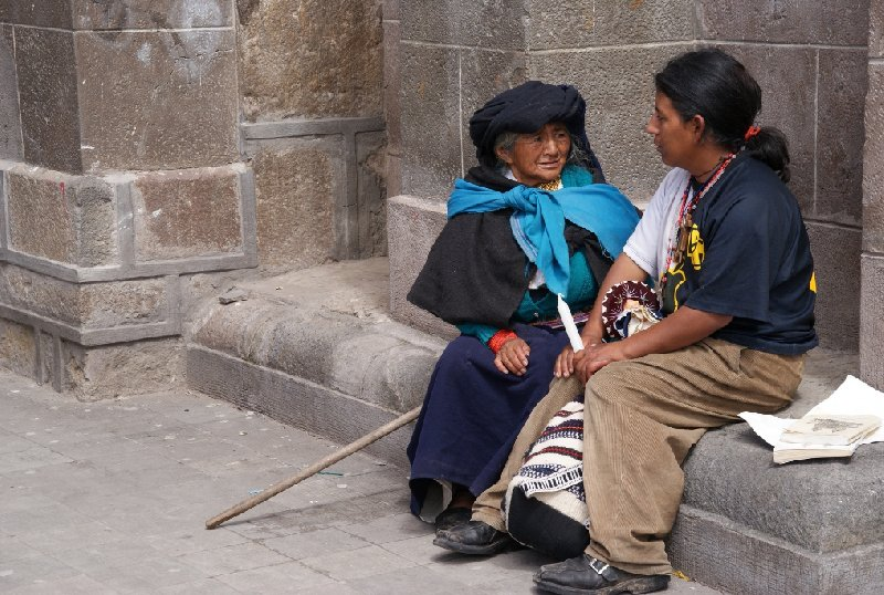 Photo Excursion to Otavalo market Ecuador located