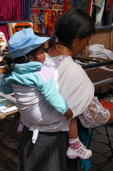 Photo Excursion to Otavalo market Ecuador locals