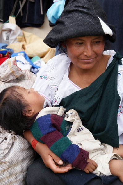 Photo Excursion to Otavalo market Ecuador bright
