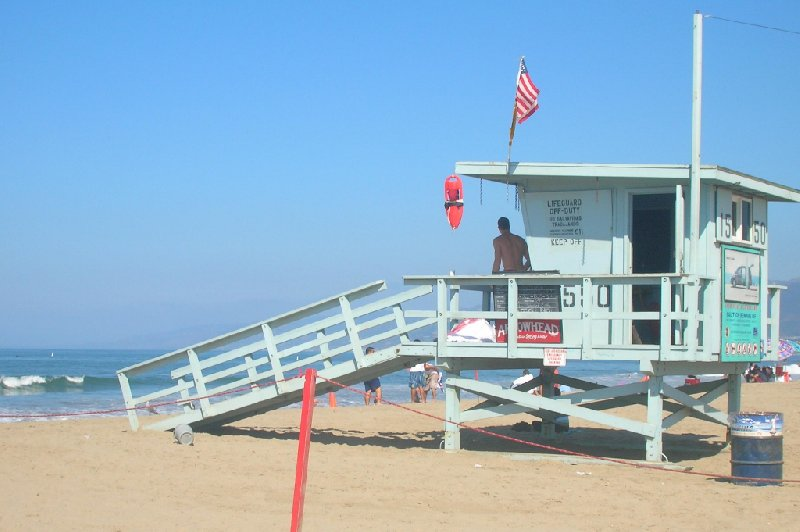 Santa Monica Beach Holiday United States Photograph