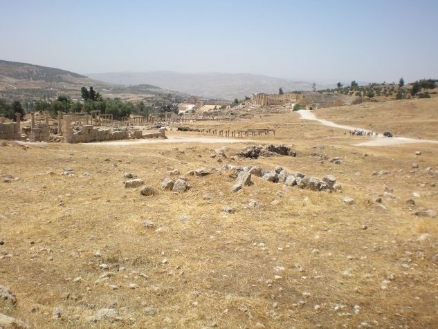 Trip from Damascus to Jerash Jordan Trip Experience