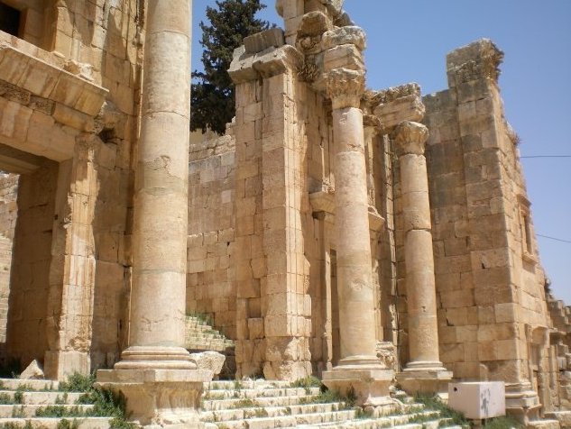 Trip from Damascus to Jerash Jordan Blog Photos
