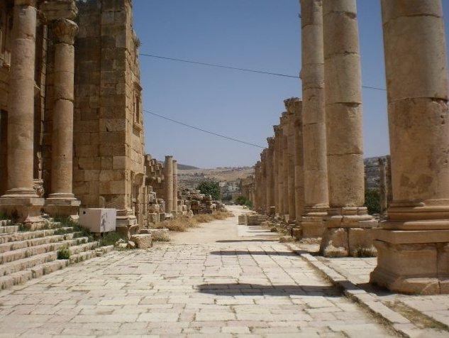 Trip from Damascus to Jerash Jordan Blog Photo