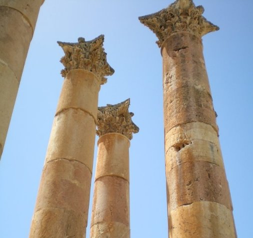 Trip from Damascus to Jerash Jordan Vacation Diary