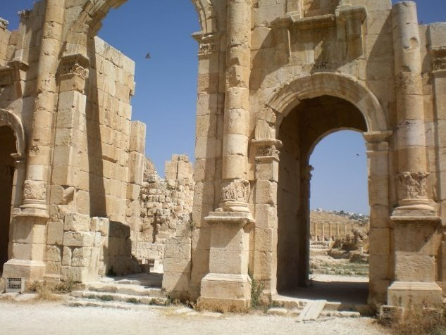 Jerash Jordan Travel Photographs