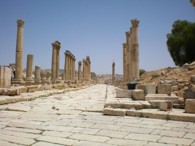 Trip from Damascus to Jerash Jordan Picture