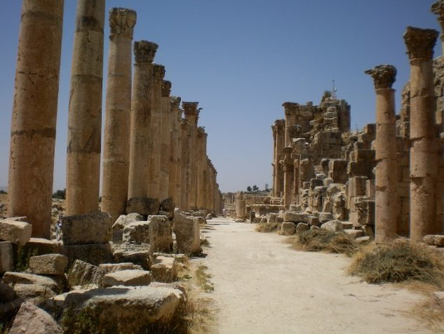 Trip from Damascus to Jerash Jordan Blog