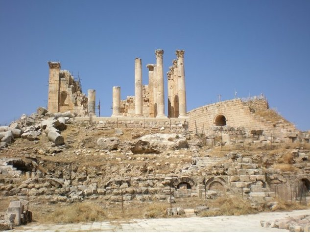 Trip from Damascus to Jerash Jordan Blog Sharing