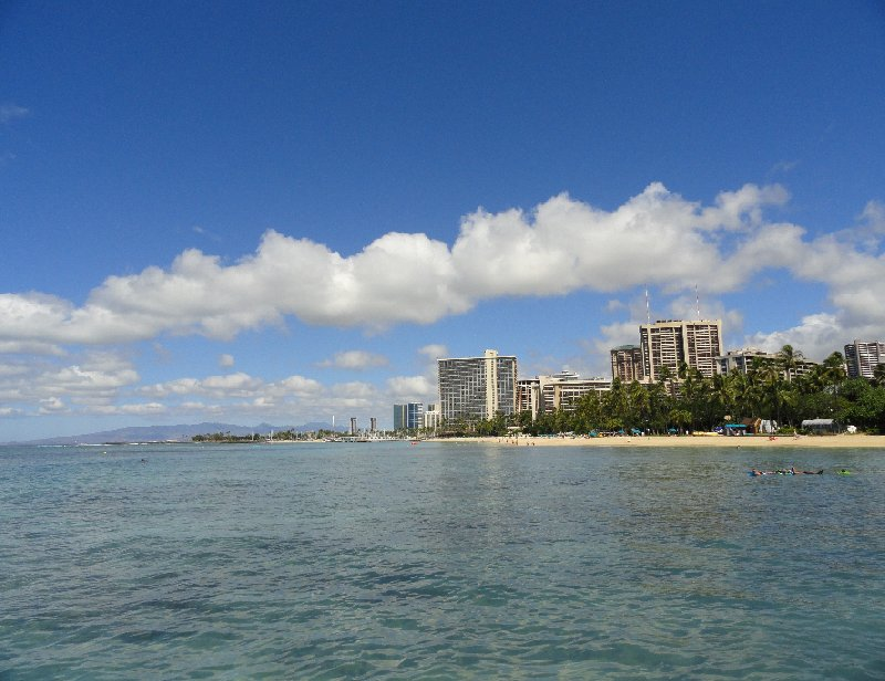 Holiday in Honolulu Hawaii United States Travel Photo