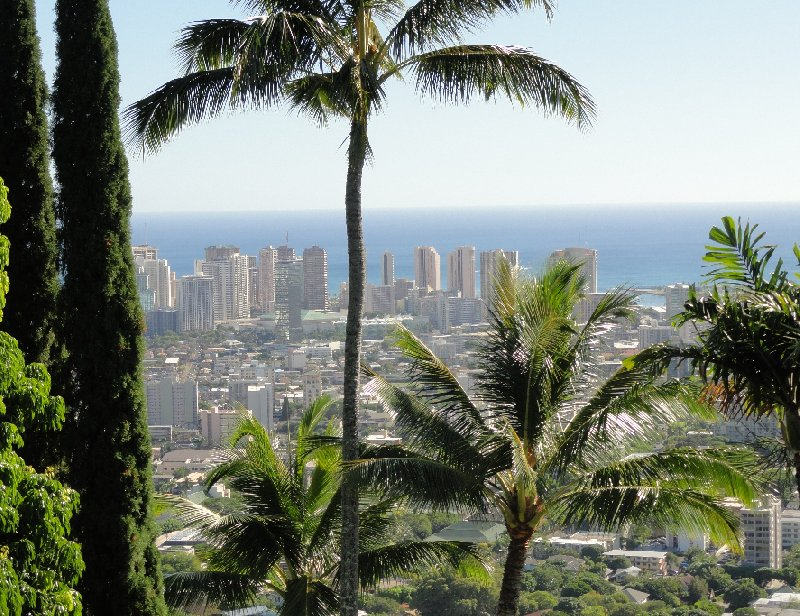 Holiday in Honolulu Hawaii United States Diary Picture