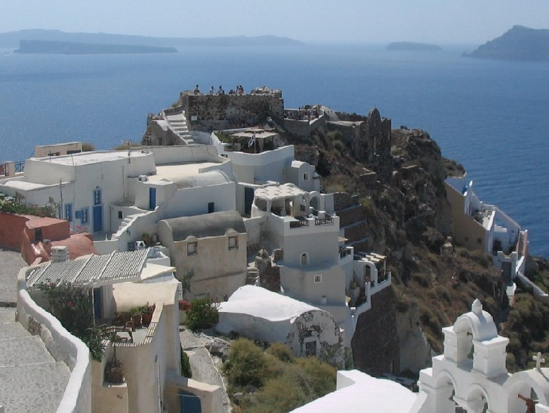 Nice stay in Santorini Oia Greece Blog Experience