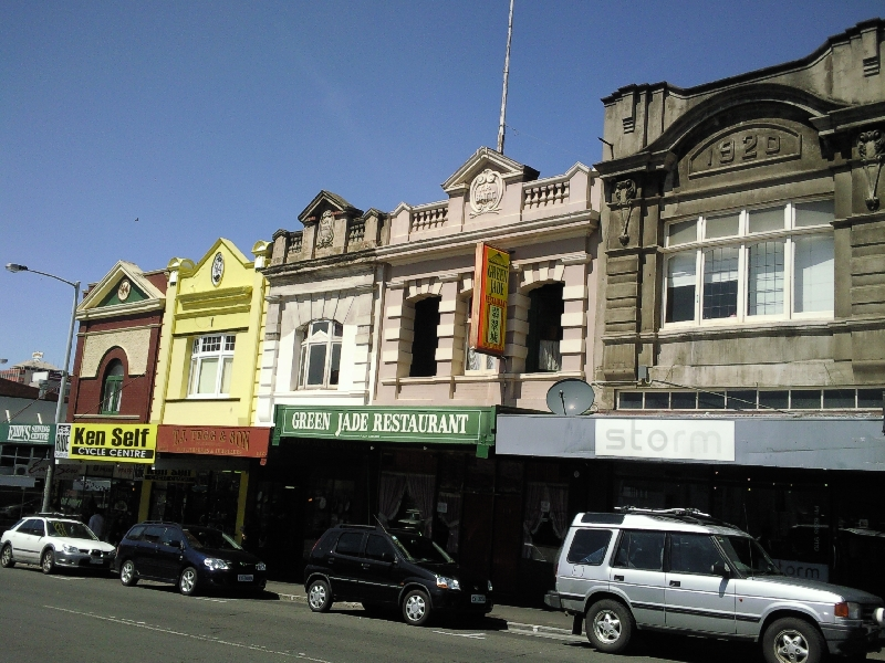 Photo Walking tour Hobart Tasmania houses