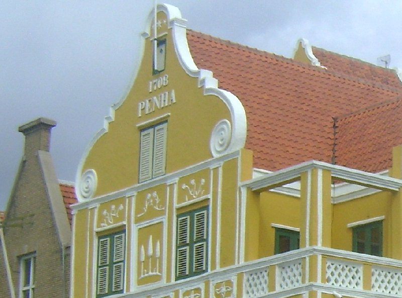 Rental Villa on Curacao Willemstad Netherlands Antilles Diary Photography