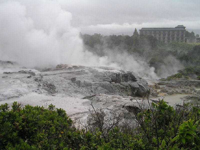 Photo Sightseeing Rotorua touring New Zealand explore