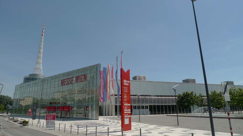 Messe-Wien, the conference center where our conference took place!, Vienna Austria