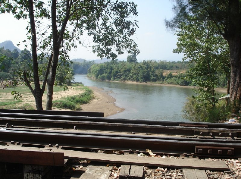 Kanchanaburi River Kwai Tour Thailand Holiday Pictures