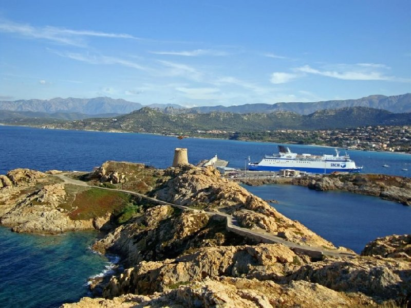 Photo Stay in Ile Rousse Corsica usually