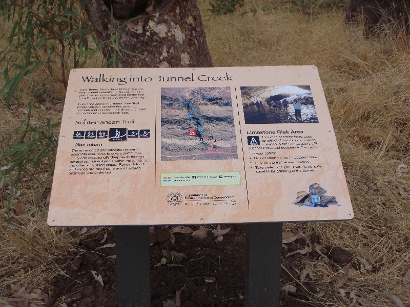 Kimberley Tour to Tunnel Creek Fitzroy Crossing Australia Diary Picture
