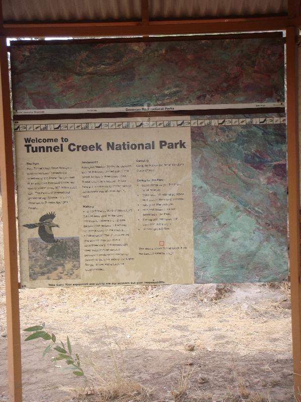 Photo Kimberley Tour to Tunnel Creek Broome