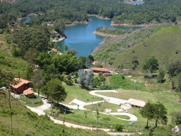 Guatape Colombia Vacation Photo