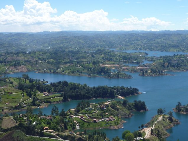 Weekend break from Medellin, Colombia Guatape Diary Information