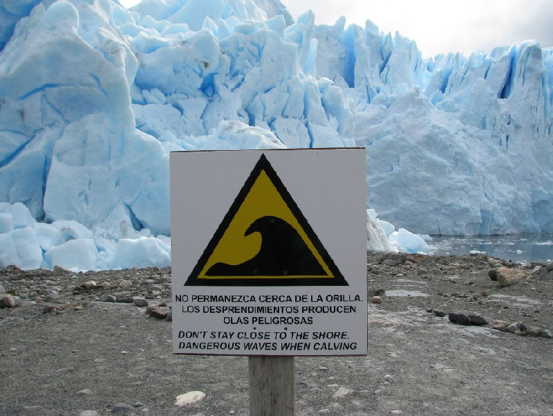 Photo Glacier tour Patagonia Argentina simply