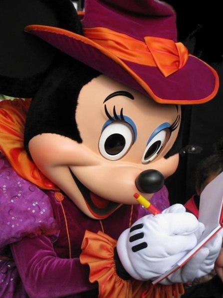 Photo Halloween in Disney World Paris school