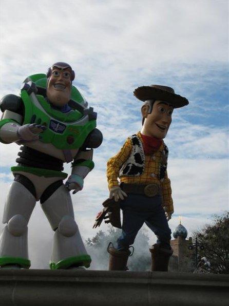 Photo Halloween in Disney World Paris Besides
