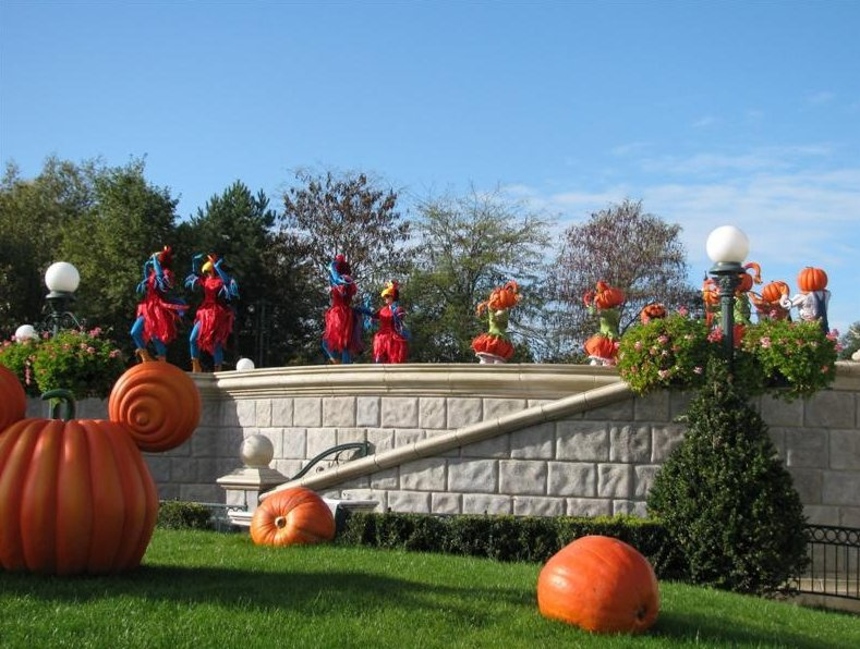 Photo Halloween in Disney World Paris course