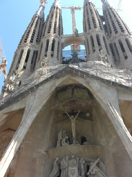 Photo Sightseeing in Barcelona Spain cities