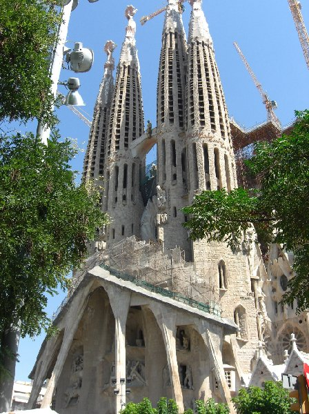 Photo Sightseeing in Barcelona Spain summer