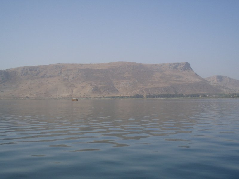 Lake Galilee boat ride Israel Capernaum Travel Blog