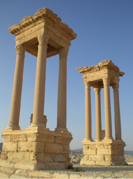 Guided Tour of Ancient Palmyra Syria Diary Pictures