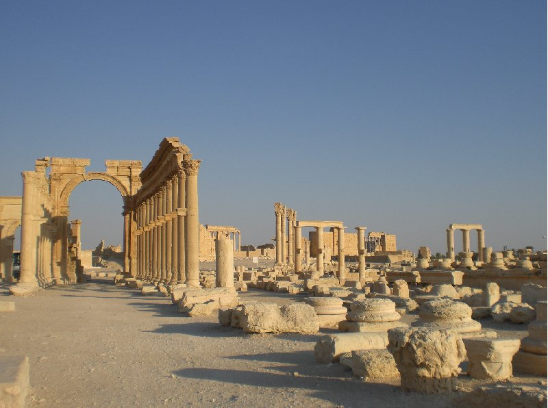 Guided Tour of Ancient Palmyra Syria Photos