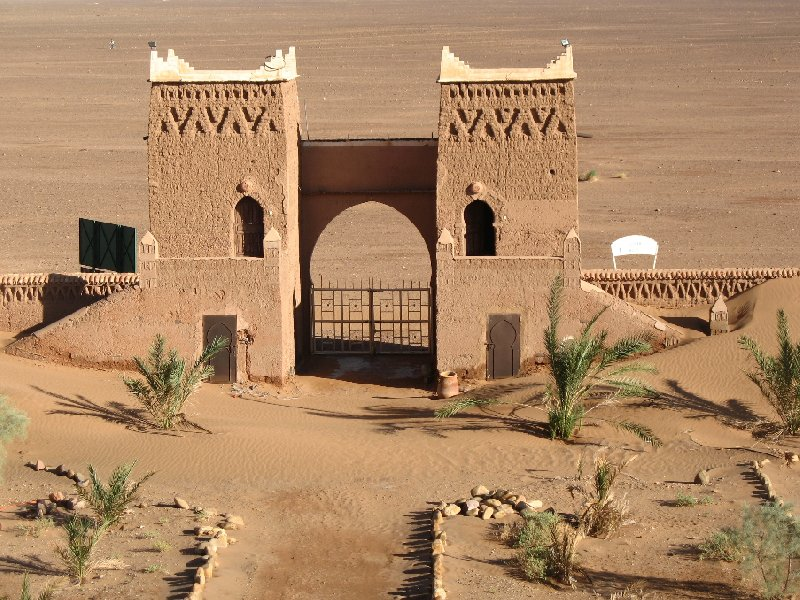 Photo Sahara Desert Hotel in Zagora, Morocco travelling