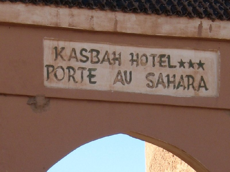 Sahara Desert Hotel in Zagora, Morocco Picture gallery
