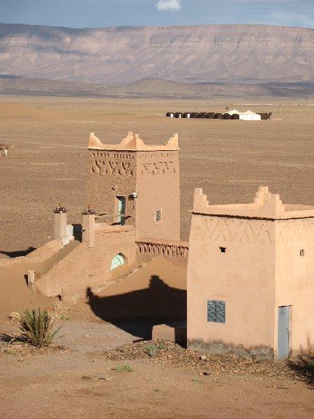 Sahara Desert Hotel in Zagora, Morocco Diary Adventure