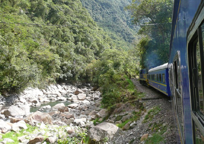 Photo Machu Picchu tour by train America