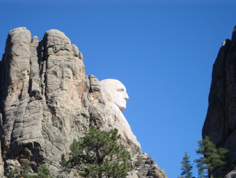 Photo Travel to Mount Rushmore in South Dakota husband