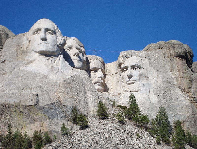 Photo Travel to Mount Rushmore in South Dakota camper