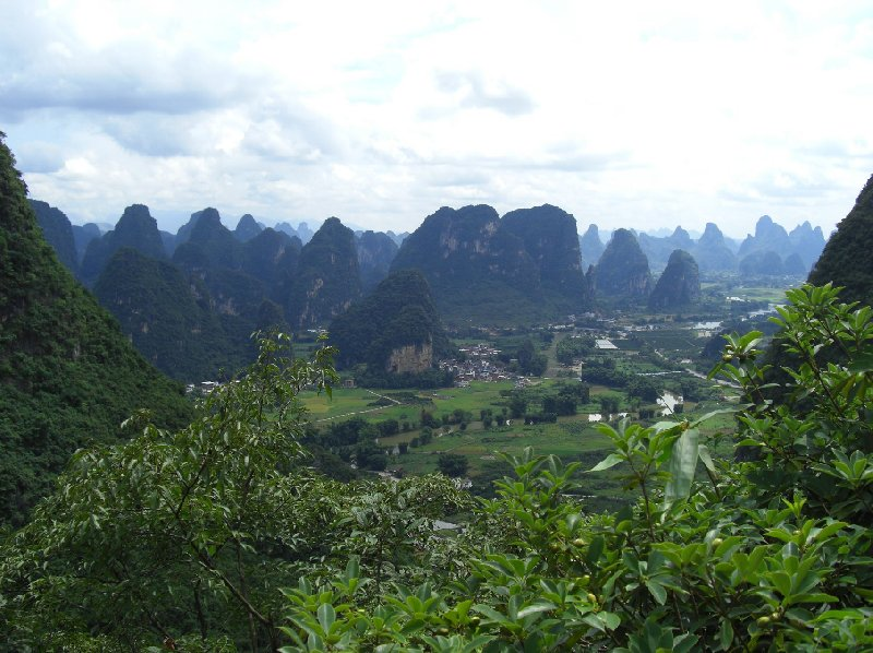 Photo Yangshuo China Rock Climbing Paradise Yangshlio
