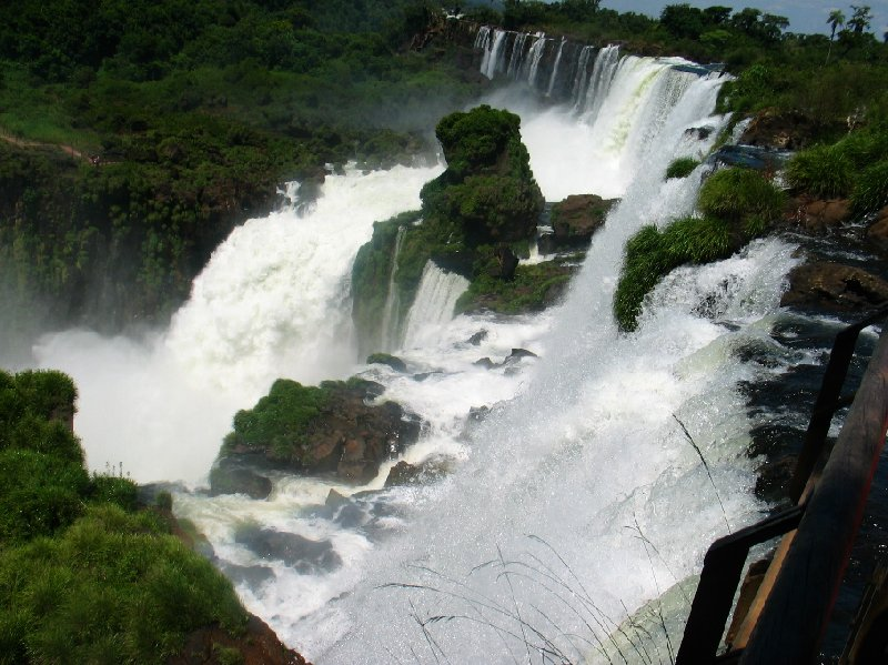 Iguazu Falls guided tour Iguazu River Brazil Trip Vacation