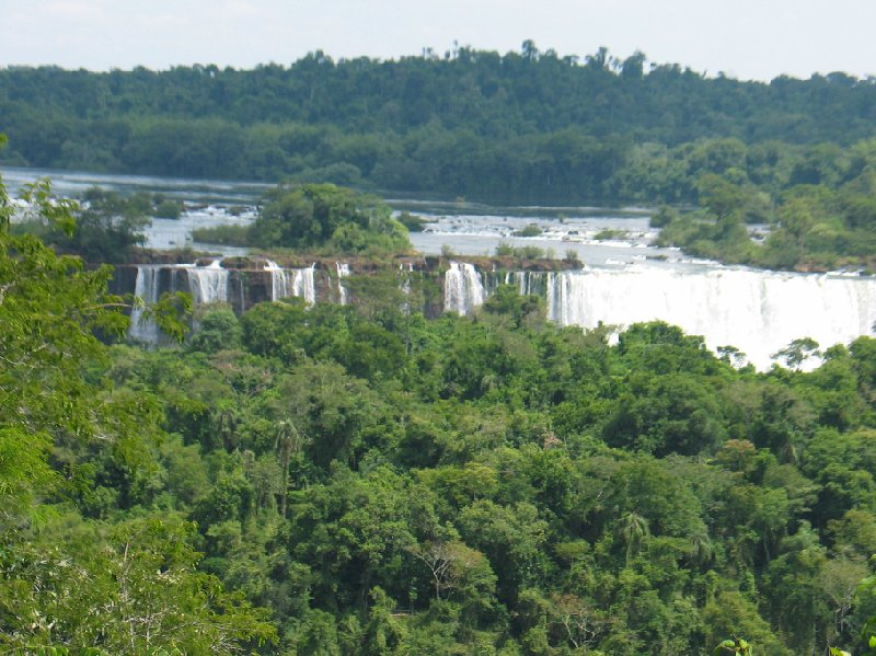 Iguazu Falls guided tour Iguazu River Brazil Travel Review