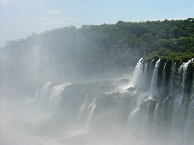 Iguazu Falls guided tour Iguazu River Brazil Experience