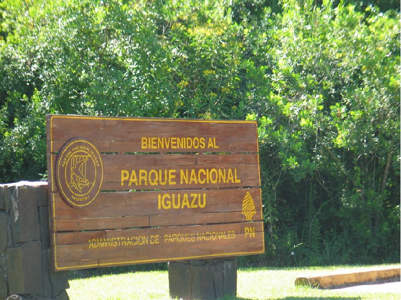 Iguazu Falls guided tour Iguazu River Brazil Blog Pictures