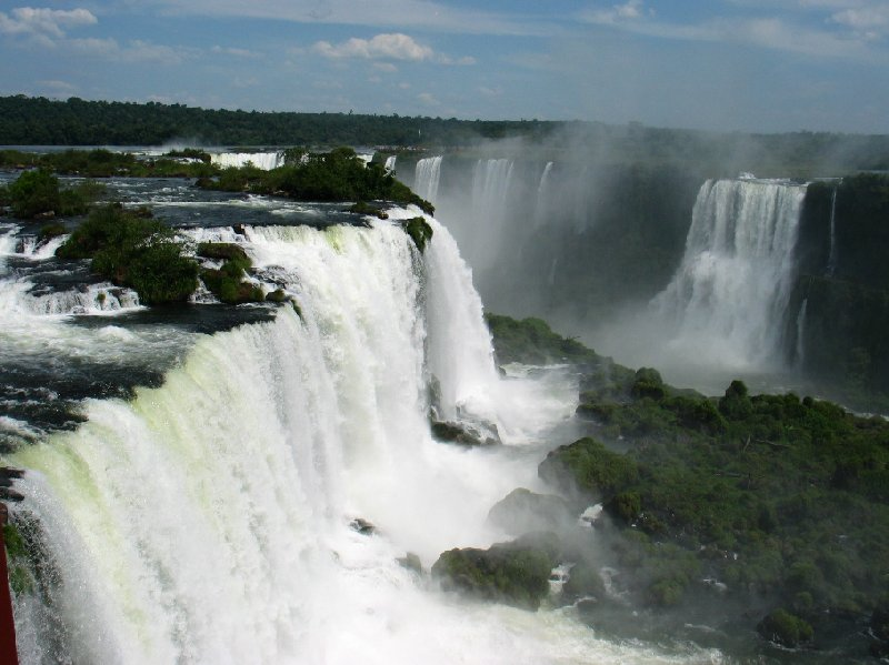 Iguazu Falls guided tour Iguazu River Brazil Blog Picture