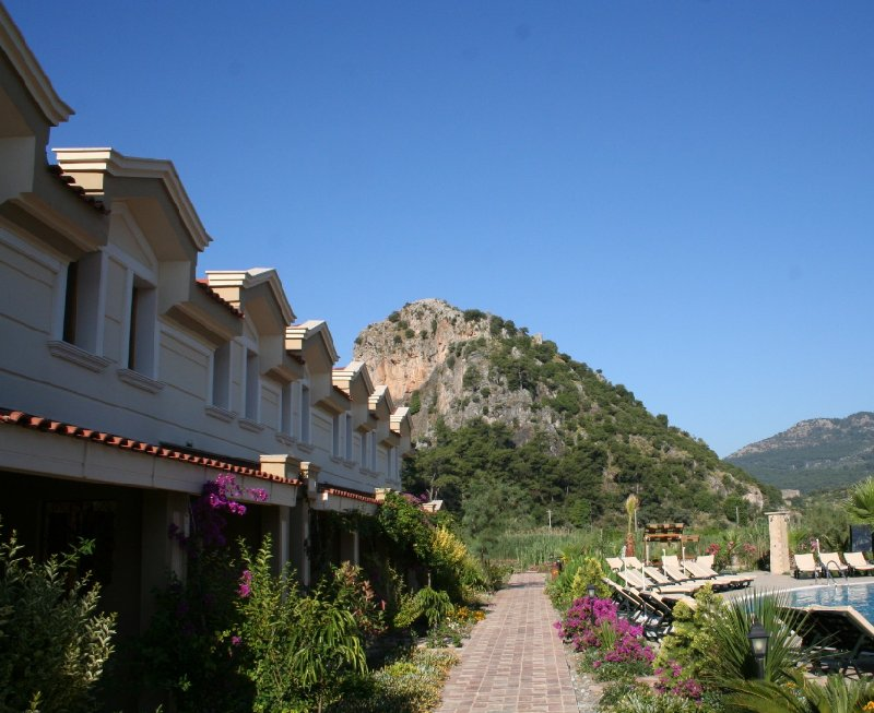 Dalyan Resort Hotel and Boat Ride Turkey Travel Pictures