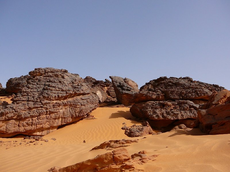 Photo Libyan desert tour in the Sahara really