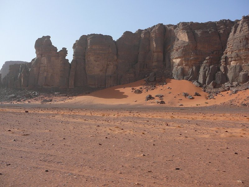 Photo Libyan desert tour in the Sahara working